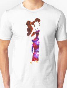 Galaxy Meg Silhouette T-Shirt