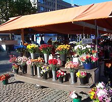 Wednesday market in Lahti, Finland by nealbarnett