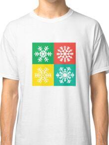 Snowflakes -  jewels Classic T-Shirt