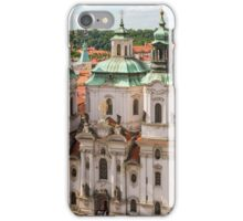 Prague city scape iPhone Case/Skin