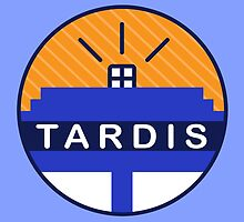 Iconic TARDIS by tvrdis