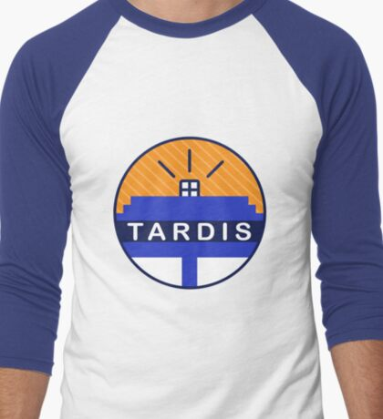 Iconic TARDIS Men's Baseball ¾ T-Shirt