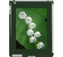 Lily of the Valley from Underneath iPad Case/Skin