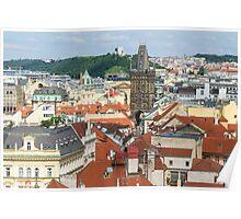 Prague City Scape - Prague, CZ Poster