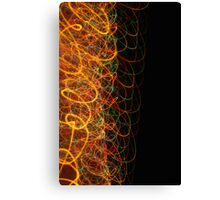 Suburb Christmas Light Series - Xmas Loop Canvas Print