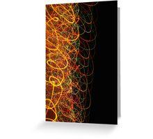 Suburb Christmas Light Series - Xmas Loop Greeting Card