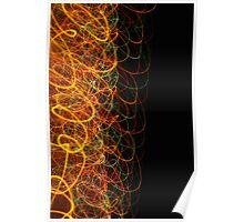 Suburb Christmas Light Series - Xmas Loop Poster
