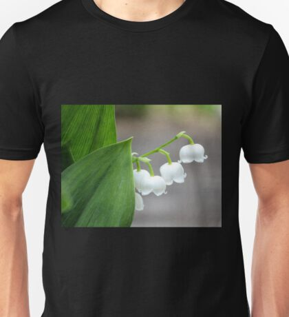 Lily-of-the-valley by the Sidewalk Unisex T-Shirt