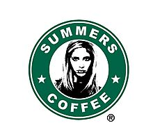 Buffy The Vampire Slayer - Summers Coffee Photographic Print
