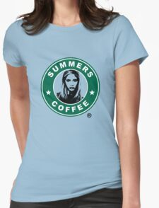 Buffy The Vampire Slayer - Summers Coffee Womens Fitted T-Shirt