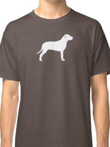 American Pit Bull Terrier Silhouette(s) Classic T-Shirt