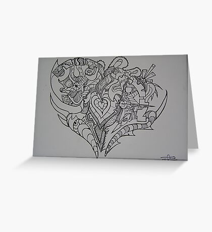 A Heart Full of Emotion Greeting Card