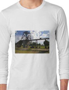 Old Mining Equipment  Long Sleeve T-Shirt