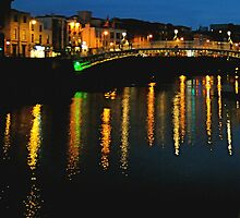 Dublin by Night by Louise Fahy