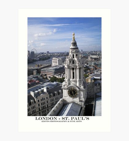 st.paul's cathedral Art Print