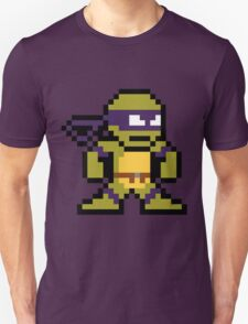 8-Bit TMNT Donnie (No Text) T-Shirt