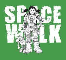 Space Walk One Piece - Short Sleeve