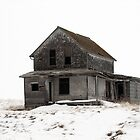 abandoned house on the prairies by axieflics