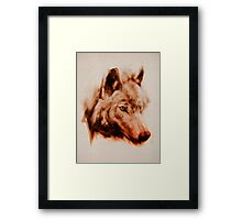 The Wolves  Framed Print