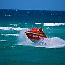 Surf Rescue patrol - Noosa, Qld by Kim Austin