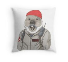 Bill-Hog Throw Pillow