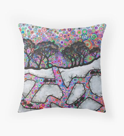 Antics Throw Pillow