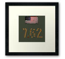 7.62 Framed Print