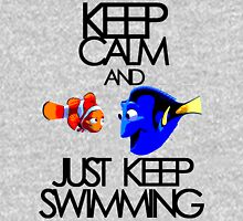 Keep Calm and Just Keep Swimming T-Shirt
