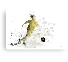 Soccer Player 9 Canvas Print