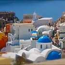 Santorini . Oia . (Greece) by Brown Sugar . Merry Christmas Everyone ******* F** Views (1517) . Favs (4) thanks , dziki !!! by AndGoszcz