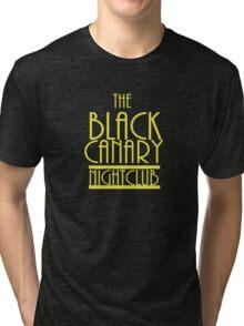 Black Canary Nightclub Tri-blend T-Shirt