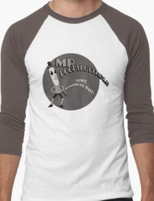 The Mr. Poopybutthole Show Men's Baseball ¾ T-Shirt