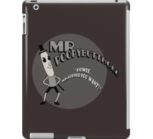 The Mr. Poopybutthole Show iPad Case/Skin