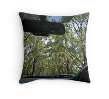 'gum gothic' Throw Pillow
