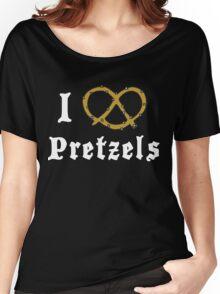 I Love Pretzels Women's Relaxed Fit T-Shirt