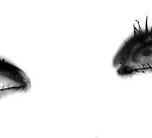 Man Ray eyes by Sophie Higgins
