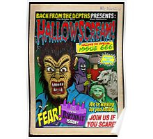 Hallowscream! 2014 Front Cover (official) Poster
