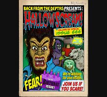Hallowscream! 2014 Front Cover (official) Unisex T-Shirt