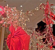 HDR - Reindeer and Santa by Doug Greenwald