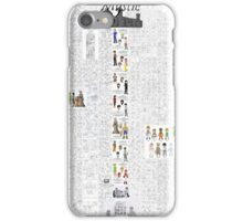 Mystic Suburb Comic Montage iPhone Case/Skin