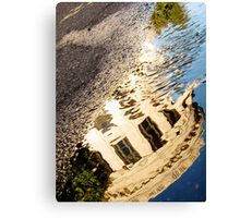 Supreme Court Reflection at Sunrise Canvas Print