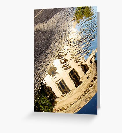 Supreme Court Reflection at Sunrise Greeting Card