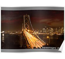Oakland Bay Bridge-San Francisco Poster