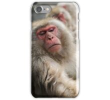 Old Man Monkey iPhone Case/Skin