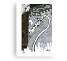Friendly Advertising Canvas Print