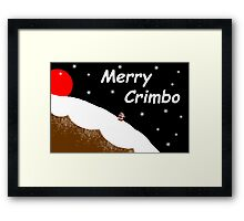 Merry Crimbo Framed Print