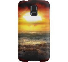 Beauty in Destruction. Nuclear Sunset. Samsung Galaxy Case/Skin