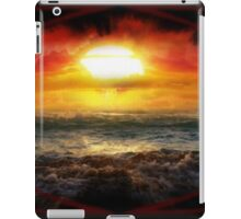 Beauty in Destruction. Nuclear Sunset. iPad Case/Skin