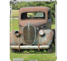 Parked Vintage Truck iPad Case/Skin