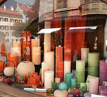 Colourful Candles by sstarlightss